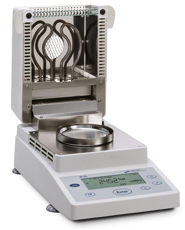 Laborgeräte Feuchtebestimmer IR 35   Laboratory Equipment
