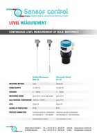 Download flyer Filling Level Measurement